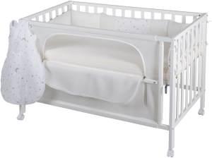Roba 'Room Bed' Beistellbett weiß, inkl. Ausstattung 'Sternenzauber'