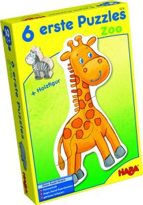HABA - 6 erste Puzzles - Zoo