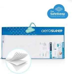 Aerosleep 'Evolution' Sleep Safe Pack Kaltschaummatratze und Matratzenschoner 40x80 cm