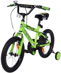 Actionbikes Kinderfahrrad in Grün,16 Zoll inkl. Stützräder