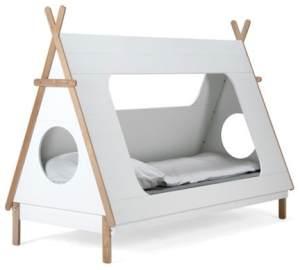 Spielbett 'TIPI' 90 x 200 cm weiß