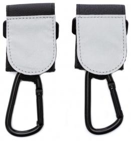 Fillikid Karabinerhalterung für Kinderwagen, schwarz