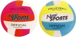 New Sports Beach Volleyball, Größe 5, 2-fach sortiert, unaufgeblasen