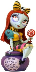 The World of Miss Mindy Presents Nightmare Before Christmas Sally Statue 15 cm