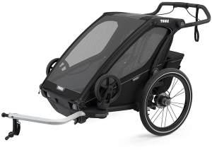 Thule 'Chariot Sport 2' Fahrradanhänger 2021 Midnight Black, 2-Sitzer