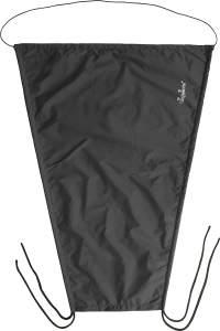 Playshoes Baby Sonnensegel für den Kinderwagen, schwarz, 75 x 55 cm