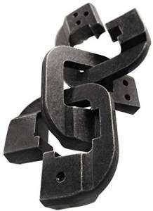 Brain Teaser Cast Chain schwarz
