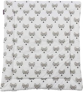 Puckdaddy 'Foxi' Wickelauflage 65x75 cm, weiß