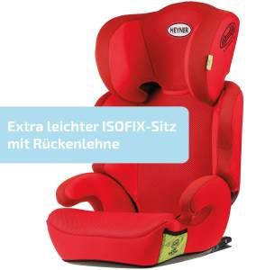 HEYNER MaxiFix Aero Kindersitz Isofix Racing Red