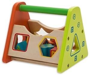 TEOREMA Satz 40504–Lernspiel aus Holz, mit Mehrfarbige Designer