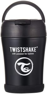 Twistshake Thermobecher 350ml (Black