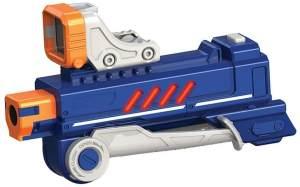 Silverlit Lazer M.A.D – Laser Game – Sharpshooting-Modul – 1 Booster (+30 m Reichweite) + Sucher + Zweibein – Spielzeug kompatibel mit Lazer M.A.D Blaster