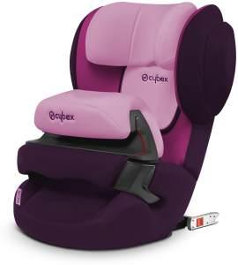 CYBEX Silver Kinder-Autositz Juno 2-Fix, Für Autos mit ISOFIX, Autositz Gruppe 1 (9-18 kg), Purple Rain