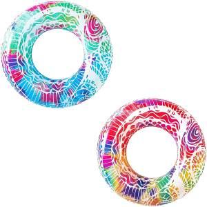 Bestway Schwimmring 'Mandala', 91 cm - 1x Schwimmring, zufällige Farbauswahl