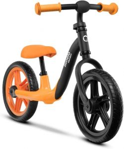 Lionelo 'Alex' Laufrad, 64 x 88 x 39 cm, ab 3 Jahren, bis 30 kg belastbar, höhenverstellbar, orange-schwarz