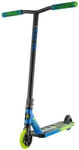 MADD GEAR 23409 'Carve Elite Stunt Scooter' Scooter, ab 8 Jahren, Lenkerhöhe 81,5 cm, Leichtegewicht mit 3,5 kg, hohe Stabilität, max. belastbar bis 100 kg, blau/grün