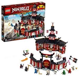 LEGO 70670 NINJAGO - Kloster des Spinjitzu mit 8 Minifiguren