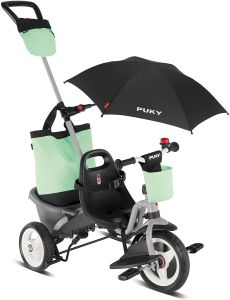 Puky Ceety Comfort 4in1 Kinder Dreirad grau