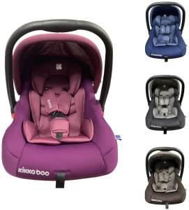 Kikkaboo Kindersitz, Babyschale Vivo Gruppe 0+ (0 - 13 kg) weiches Körperkissen lila