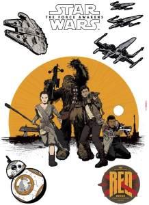 Komar Deco-Sticker Star Wars Resistance