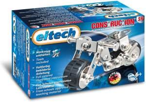 Eitech GmbH C59 eitech Metallbaukasten C59-Mini-Motorrad, Multi Color