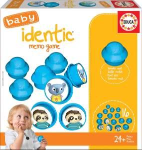 Educa 18124 Baby Identic Memo Game Puzzle, Varié