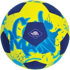 Schildkröt Neopren Mini Beachsoccer, Kleiner Fußball ideal für kleine Kinderhände und Füße, griffige Textile Oberfläche, salzwasserfest, Größe 2, Ø 15 cm, 970277