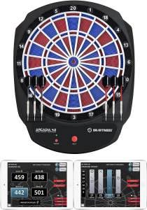 Carromco 'Arcadia 4.0' Erwachsene Smartness E-Dartboard, Mehrfarbig, One Size