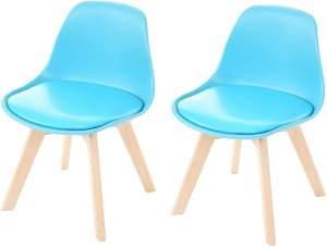 Mendler 2-er Set Kinderstuhl, blau