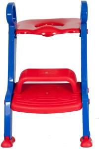 Toilettentrainer / WC-Sitz / mit Stufen von DR. SCHANDELMEIER, verschiedene Farben, Farbe:Blau-Rot