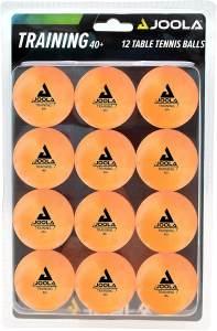 Joola Tischtennisbälle - 12 Bälle Orange