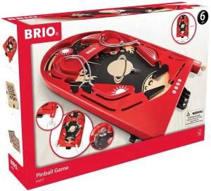 BRIO Kinderspielzeug Holzflipper, Space Safari, Holzspielzeug Pinball Flipper Für Kinder