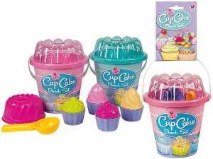 Simba 107110554 - Eimergarnitur Cupkace, 2 verschiedene Farben möglich