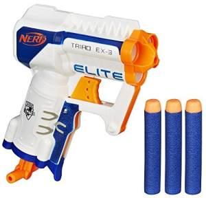 Hasbro A1690EU4 - N-Strike Elite Triad kompakter 3-Schuss-Spielzeugblaster