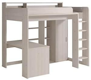 Parisot Smoozy A 3 - Hochbett mit integr. Schreibtisch 90 x 200 cm