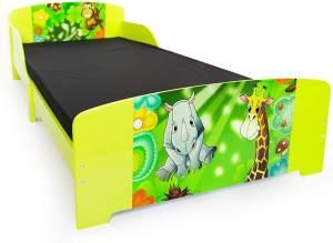 Kinderbett Jugendbett Juniorbett Dschungel Kinder Bett 90 x 200 Kinderzimmer