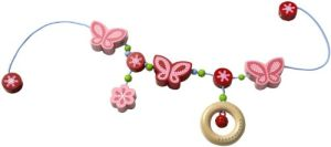 HABA 301120 - Kinderwagenkette Schmetterlingszauber