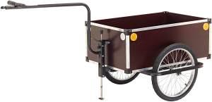 ROLAND Fahrrad-Anhänger JUMBO B mit höhenverstellbarer Doppeldeichsel