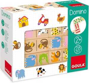 Goula D50266 Domino Zoo Spiel