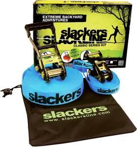 Schildkröt Funsports - SLACKERS Slackline CLASSIC 15m, 5cm breit,inkl. Teaching Line