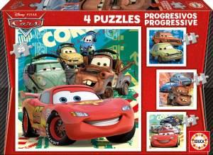 Educa 14942 - Progressive Puzzle Disney Car 2