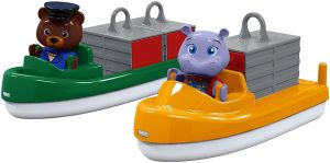 Big Spielwarenfabrik 8700000255 AquaPlay Container- und Transportboot