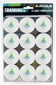 Joola Tischtennisbälle - 12 Bälle Weiß