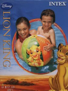 Intex 58046NP - Lion King Wasserball, Durchmesser 51cm