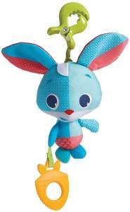 Tiny Love - Baby Spielzeug Tiny Smarts Thomas Rabbit, Springtier für Babyschale, Kinderwagen und unterwegs, ab der Geburt (0M +), hüpft und zappelt freudig umher, mehrfarbig