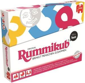 Jumbo Spiele - Original Rummikub with a Twist - Gesellschaftsspiel - Ab 7 Jahren
