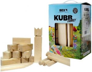 BEX 511-014 - Kubb Basic Birkenholz - Komplett Set
