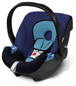 CYBEX Silver Babyschale Aton Scuderia Ferrari, Inkl. Neugeboreneneinlage, Ab Geburt bis ca. 18 Monate, Max. 13 kg, Racing Red
