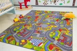 Steffensmeier Spielteppich City, 100x200 cm