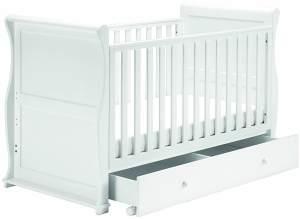 Alaska-Schlitten Kinderbett 3 in 1 Krippe / Kleinkind / Sitzbank 157 cm